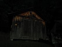20190913_Hütte: nur vom Vollmondlicht beleuchtet